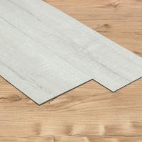 China White 1.5mm Luxury Vinyl Tile Flooring With 0.1mm Wear Layer And Rigid Core on sale