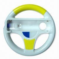 Racing Car Steering Wheel with Several Colors Available, Suitable for Wii Manufactures