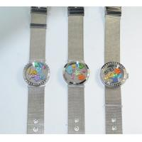 Stainless Steel Glass Metal Plate Round Floating Charm Lockets Bracelet Collection Manufactures