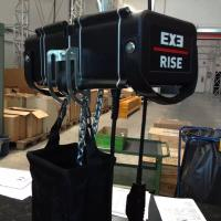 Construction Exe Rise Motor Chain Hoist With D8 + 160kg Loading Capacity Manufactures