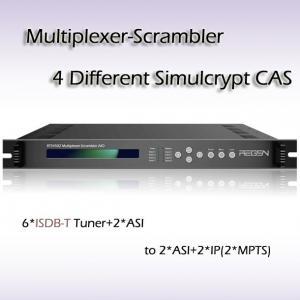 RTS4502 Multiplexer-Scrambler AIO DVB 6*ISDB-T TO 2*ASI/IP Manufactures