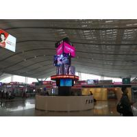 Three Sided Nine Faced Rotating Outdoor Programmable Led Video Display Panel Manufactures