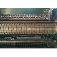 Green Welded Wire Mesh Machine High Production Efficiency Compact Structure Manufactures