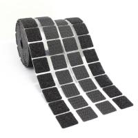 Buy cheap Black / White Self Adhesive Hook And Loop Dots , Nylon Sticky Back Coins from wholesalers