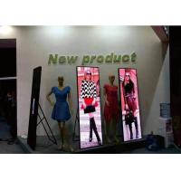 Asynchronous Synchronous Digital Led Posters P2.5 For Shop Window Showcase Manufactures