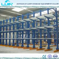 China Professional Cantilever Storage Racks Various Column Arm Sizes Spray Painting Surface on sale