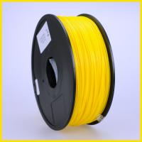 Yellow 3D Printer Filament ABS, Dia 1.75mm 1kg material for RepRap/Makerbot/ Mendel/ UP Manufactures
