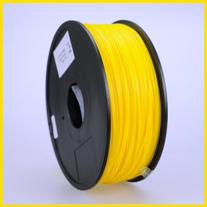 Buy cheap Yellow 3D Printer Filament ABS, Dia 1.75mm 1kg material for RepRap/Makerbot/ from wholesalers
