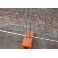 Buy cheap Durable security metal galvanize Australia temporary fencing for construction from wholesalers