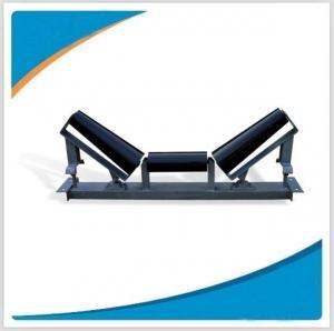 Belt conveyor idler roller frame and bracket Manufactures