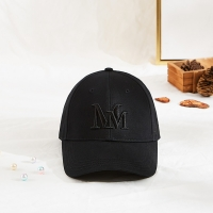 Cotton 50cm 3D Embroidered Baseball Caps Standard Visor Manufactures