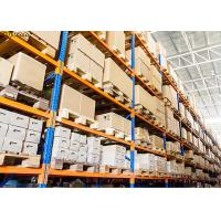 4.5T Per Layer Industrial Storage Racks Heavy Duty , Heavy Pallet Racking Manufactures
