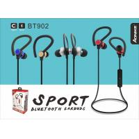 China In-ear magnetic sports bluetooth earphones/headsets,bluetooth Airoha 4.1.Metal earhousing,strong bass. on sale