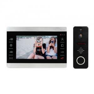 China 4 wire video door phone two-way audio intercom doorbell with camera waterproof Ip65 on sale