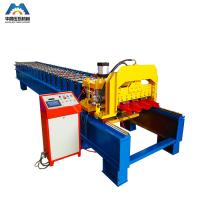 China Color Steel Plate Aluminium Glazing Roofing Tile Forming Machine 18 Rows on sale