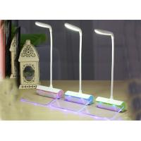Battery Operated Modern Desk Lamp , LED Nightstand Lamp Rechargeable Manufactures
