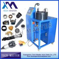 Blue Manual Hydraulic Hose Crimping Machine L850*W900*H1300mm , 0.05mm Acurracy Manufactures