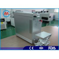 20w Portable Fiber Laser Marking Machine With Raycus Fiber Laser Source Manufactures