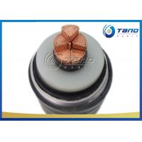 China Corrosion Resistant HV Power Cable , PE / PVC Sheathed Power Cable on sale