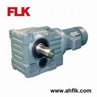 Good price Helical Bevel Gearbox and Motor for natural rubber creper machine Manufactures