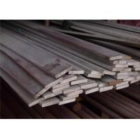Polishing Hot Rolled Stainless Steel Flat Bar , AISI 317L 321 430 Manufactures