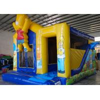 China The Simpons Customized Character Kids Inflatable Bounce House Air Inflated Jumper on sale