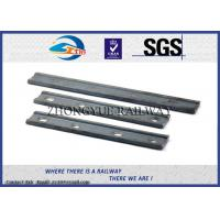 China 4 Hole 45# 50# Steel Splice Bar Fish Plates In Railway Track With Znic Plated on sale