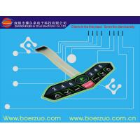 China Abrasion Resistant Touch LED Membrane Switch Keypad With Metal Dome on sale