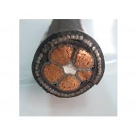 600/1000V  4phase 4+1 Core Low Voltage Electrical Cable XLPE/PVC Insulation Manufactures