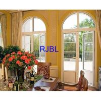 China Double Glass aluminum Clad wood Replacement Windows Natural Laminated Conifer Lumbers on sale