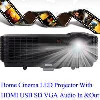 China China Good Brand LED Projector With HDMI USB TV Tuner Work For PS DVD iPhone Computer on sale