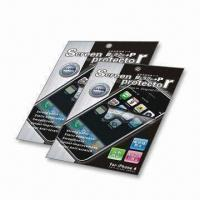 Clear LCD Screen Protector, Ideal for Apple iPhone 4G Manufactures