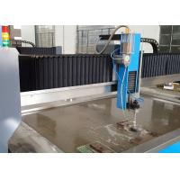 Quality Three Axis CNC Water Cutter Machine , Titanium Water Jet Cutting Equipment 2000 for sale