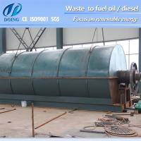 No Pollution!! waste plastic recycling machinery with CE&ISO&SGS report Manufactures