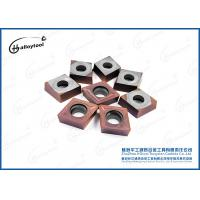 CCMT120408 Tungsten Carbide Turning Inserts Manufactures