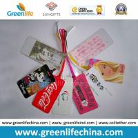 Factory Price Plastic Custom Imprinted Luggage Tags W/Loops Manufactures