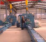 16m Length Autotmatic Welding Light Pole Production Line 4KW AC Motor Manufactures