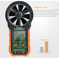 USB Interface Hand Held Wind Anemometer , Custom Air Flow Velocity Meter Manufactures