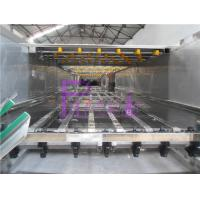 Bottled Bottle Packing Machine Movable Juice Pasteurizer Recycling With Spray Nozzles Manufactures