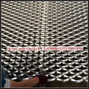 Aluminum expanded metal curtain wall/aluminum curtain wall mesh Manufactures