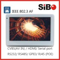 Industrial Controller Wall Mounting 7 Android 6.0.1 OS POE Powered Touch Screen For User Interface Manufactures