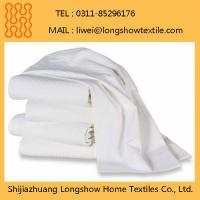China Hotel Supplier Wholesale Market Stock Bed Sheet Manufactures
