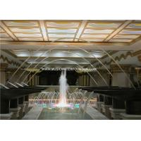 Swimming Pool Laminar Jet Fountain Indoor / Outdoor With Led Light Manufactures