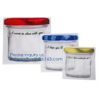 Biodegradable Customized Shaped Food Container Plastic Bag Clear Mason Bottle