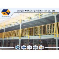 Durable Q235B Used Multi Tier Mezzanine Rack Corrosion Protection Medium / Heavy Duty Manufactures