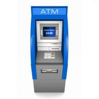 Customized Metal Banking ATM Cabinet Enclosure With Powder Coating Manufactures