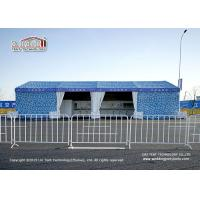 China Customized Size Outdoor Event Tents Blue Camouflage Sidewall Airshow Event on sale