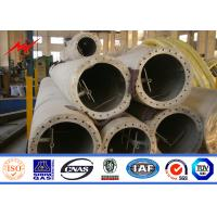 18M 30M Grade 345 Electrical Transmission Tower , Mobile Telephone Masts Manufactures