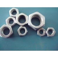 High Accuracy Hot Dipped Galvanized Lock Nuts , Hex Jam Nut Agricultural Machinery Applied Manufactures
