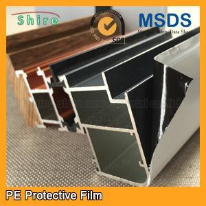 China Aluminum Frame Surface Pe Protection Film Aluminum Frame Surface Protective Film on sale